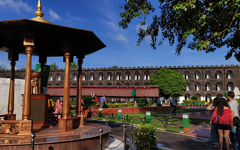 Cellular Jail in Andaman and Nicobar Islands