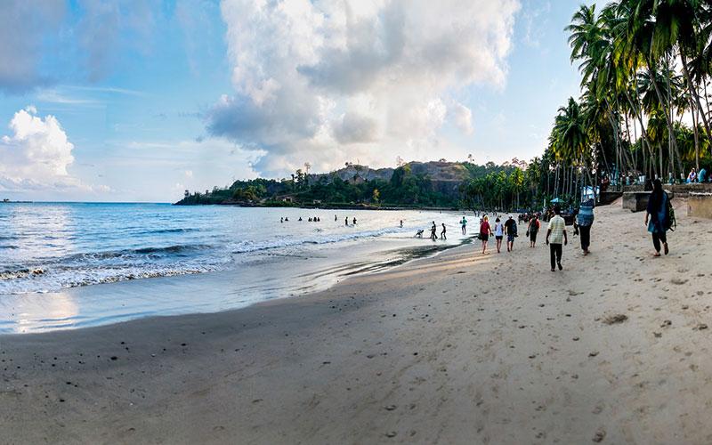 Port Blair - Carbyn's Cove Beach